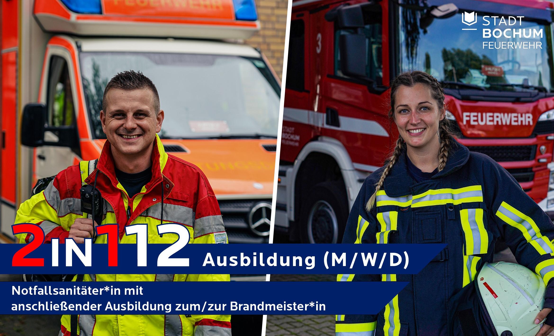 Neues Ausbildungskonzept bei der Feuerwehr Bochum